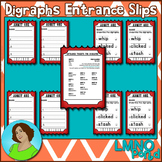 Digraphs Entrance Tickets