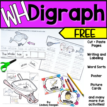 WH Digraph FREEBIE!