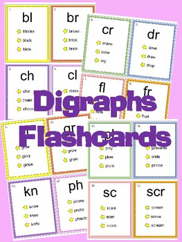 Digraphs Flashcards