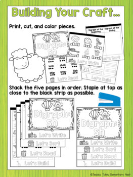 Digraphs Flip Books