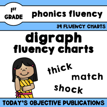 Digraphs Fluency Charts