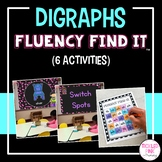 Digraphs Fluency Find It® (beginning and ending)