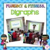 Digraphs Fluency & Fitness Brain Breaks Bundle