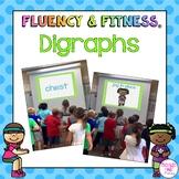Digraphs Fluency & Fitness Brain Breaks