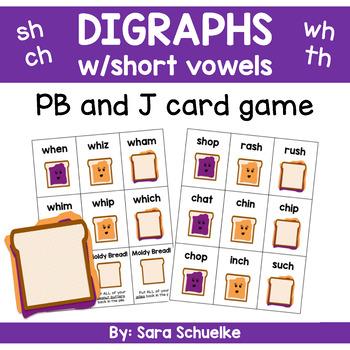 Digraphs Game - PB and J