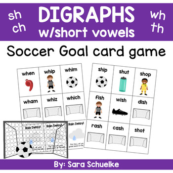 Digraphs Game - Soccer Goal