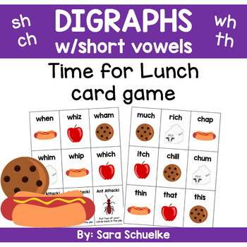 Digraphs Game - Time for Lunch
