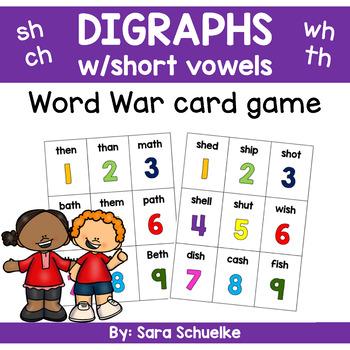 Digraphs Game - Word War