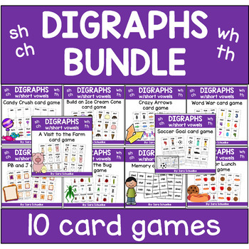 Digraphs Games - BUNDLE