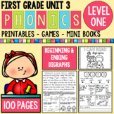 Level 1 Unit 3 Digraphs Games and Activities