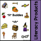 "Digraphs - ""H"" Buddies - ""ch"""