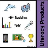 "Digraphs - ""H"" Buddies - ""ph"""