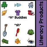 "Digraphs - ""H"" Buddies - ""sh"""