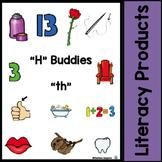 "Digraphs - ""H"" Buddies - ""th"""