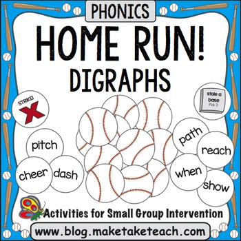 Digraphs - Home Run!