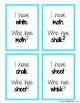 Digraphs - I Have, Who Has game!