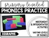 Digraphs - Independent Phonics Practice