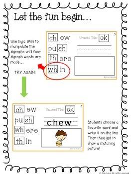 Digraphs Interactive Logic Book