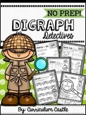 Digraphs Interactive Printables {NO PREP}