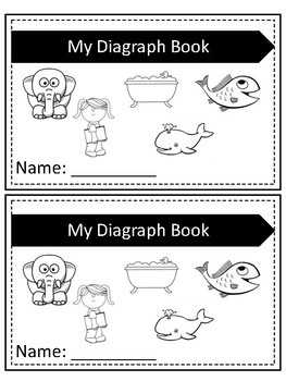 Digraphs- Intro Book & Write the Room