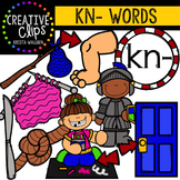 Digraphs - KN Words {Creative Clips Digital Clipart}