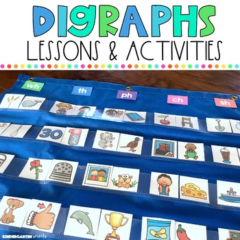 Digraphs: Lessons and activities