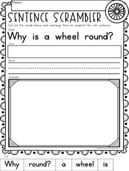 Wh Worksheets For Kindergarten
