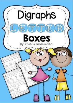 Digraphs Letter Boxes