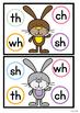 Digraphs Literacy Centers / Activities /Games - Bunny Fun