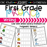 Digraphs & Long Vowel Writing Activity