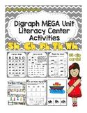 Digraphs MEGA unit Literacy Centers