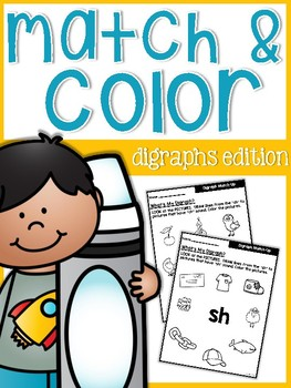 Digraphs Match and Color