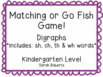Digraphs Matching Game