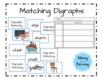 Digraphs - Matching Game