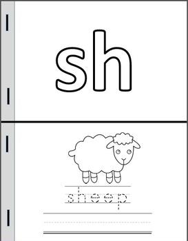 Digraphs Mini Books (SH/CH/TH)