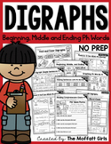 Digraphs (PH Words) NO PREP Packet