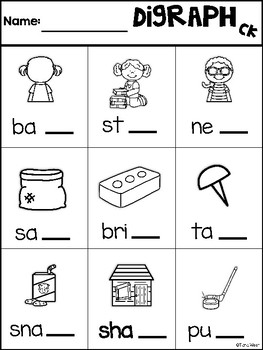Digraphs Pencil it in
