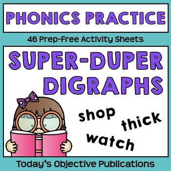 Digraphs Activities Phonics
