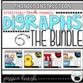 Digraphs Phonics Instruction Bundle
