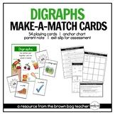 Digraphs: Phonics Make-a-Match Cards