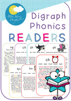 Digraph Phonics Readers