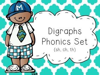 Digraphs Phonics Set