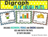 Digraphs Play Dough Activity Mats