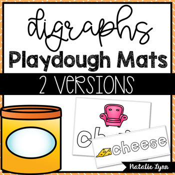 Digraphs Playdough Mats
