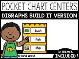 Digraphs Pocket Chart Centers: Build It