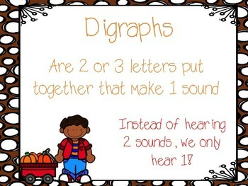 Digraphs PowerPoint
