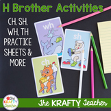 Digraphs Worksheets and Activities TH, CH, SH, WH, PH