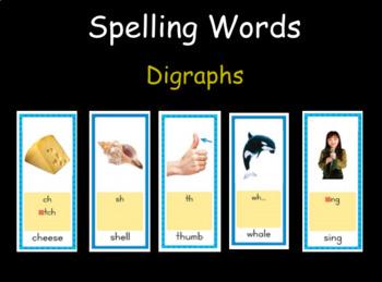 Digraphs Presentation for 2nd Grade Wonders Spelling