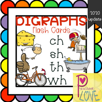 Digraphs Printable Flash Cards