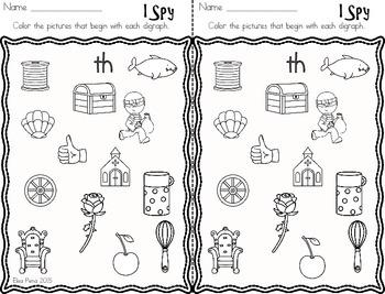 Digraphs - Printables